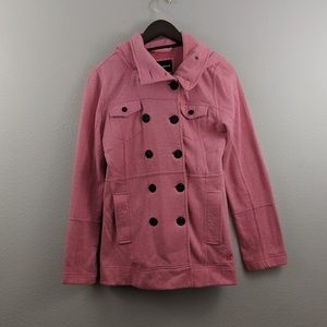 Hurley Peacoat with removable hood